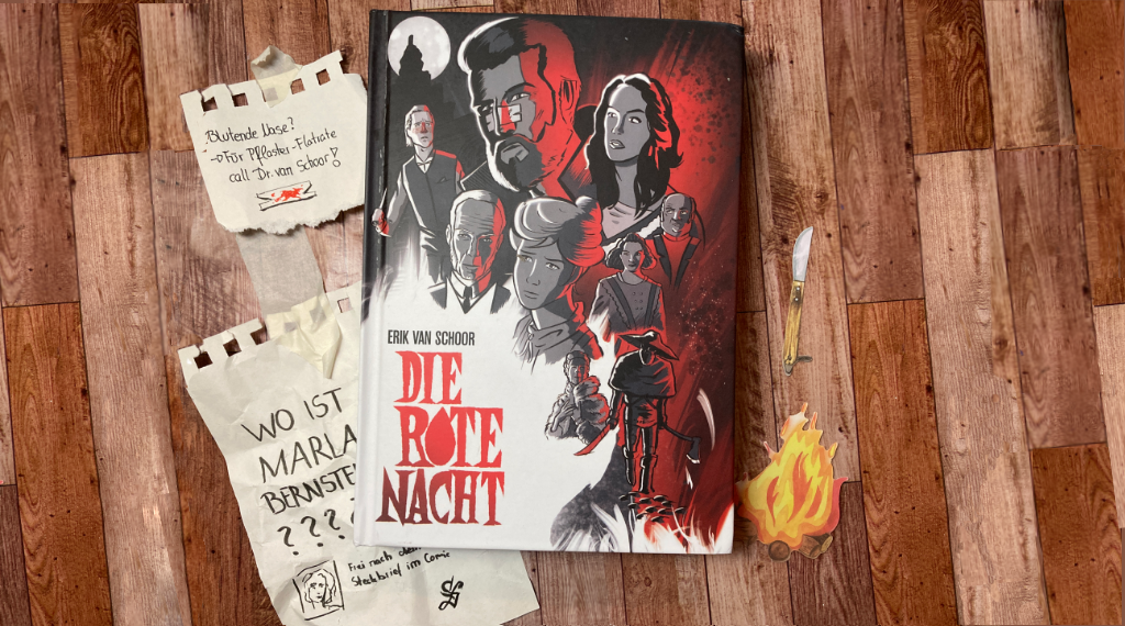 Die rote Nacht Graphic Novel von Erik van Schoor